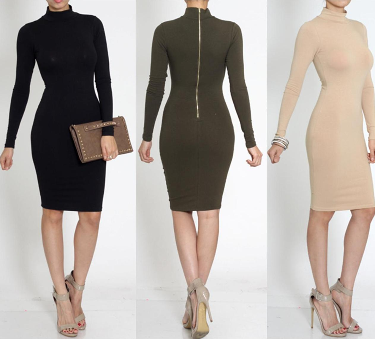 Turtleneck dress · trendyish · online store powered by storenvy