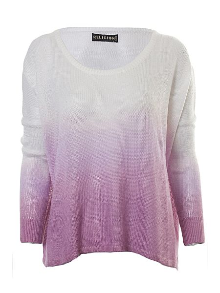 Religion Cloud jumper Purple - House of Fraser