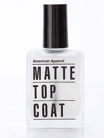 Matte Top Coat Nail Polish  | American Apparel