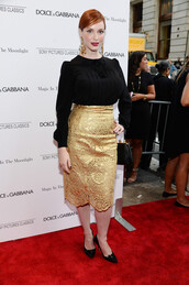 skirt,christina hendricks