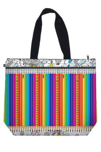 bag pencils tote bag canvas tote