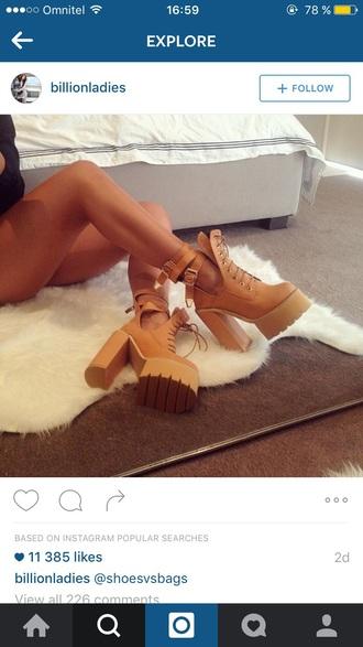shoes timberlands heels high heels sexy high waisted jeans kylie jenner autumn/winter summer boots