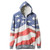 Flag Print Hooded Sweat Hoodie [NCSUL0003] - $38.99 : ($20-50) - Svpply