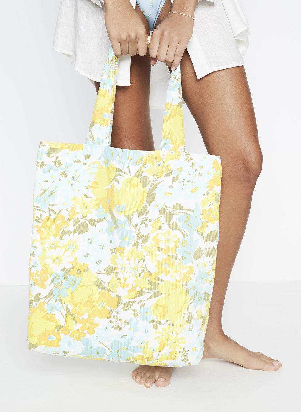 Annina Floral Print - Travel Tote Bag