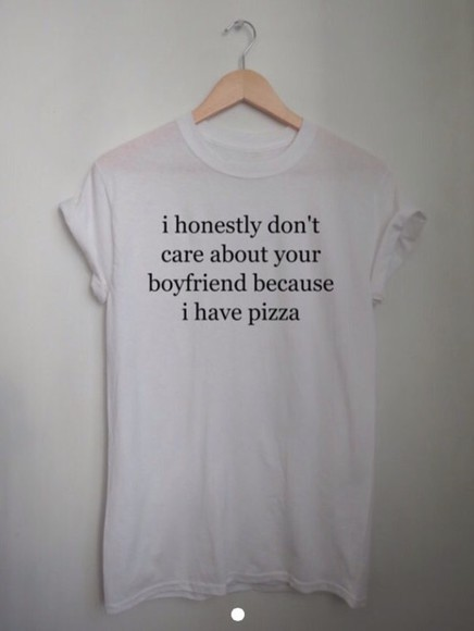top white t-shirt style pizza boyfriend funny clothes word sentence popular crewneck hoodie kim kardashian t-shirt girlfriend relationshil relationship shirt cute dress shorts jeans tshiet shier pizza slut shitt pizza slut shirt cheap etsy iphone case