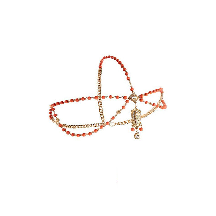 ORANGE HEADCHAIN / back order – HolyPink