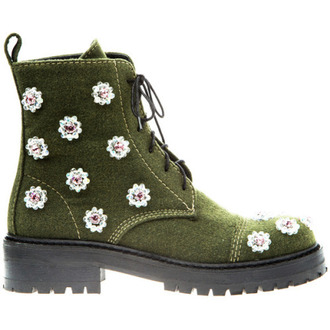 Flowers Combat Boots - Shop for Flowers Combat Boots on Wheretoget