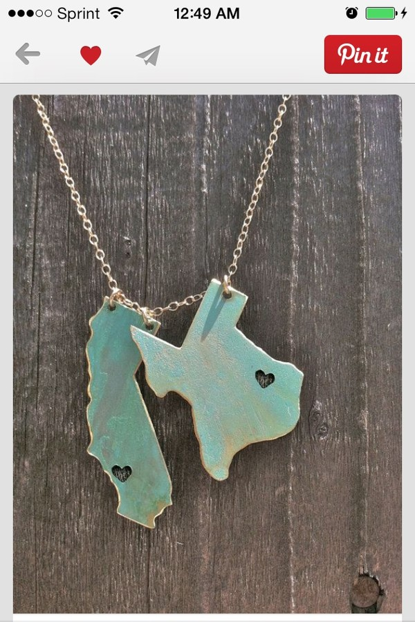 jewels states necklace
