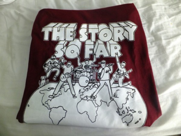 sweater the story so far tssf crewneck burgundy band