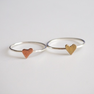 jewels summer summer handcraft loveheart ring cute handmade cool giftideas sterling silver silver ring valentines day gift idea holiday gift