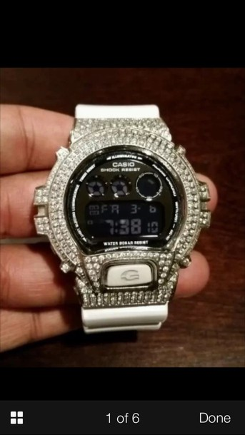 jewels g shock watch