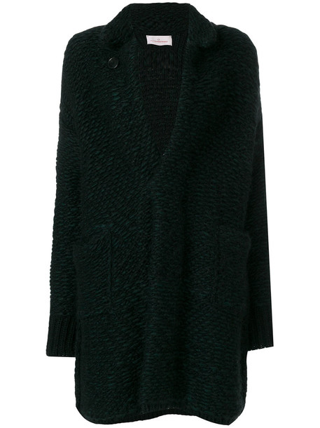 A.F.VANDEVORST coat women black wool