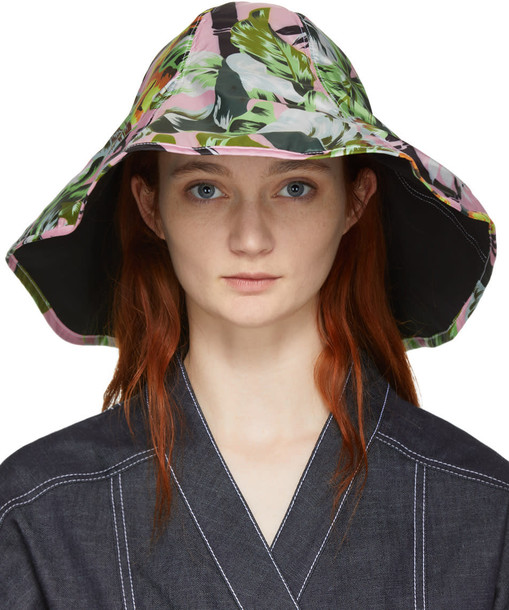 Kenzo Reversible Pink Tiger Beach Hat