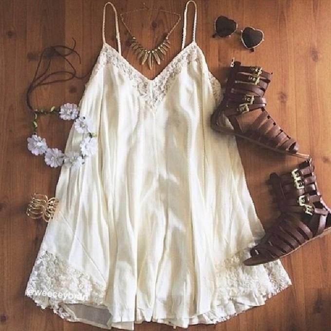 Cream Lace Dress Dress Jewels White Lace Dress