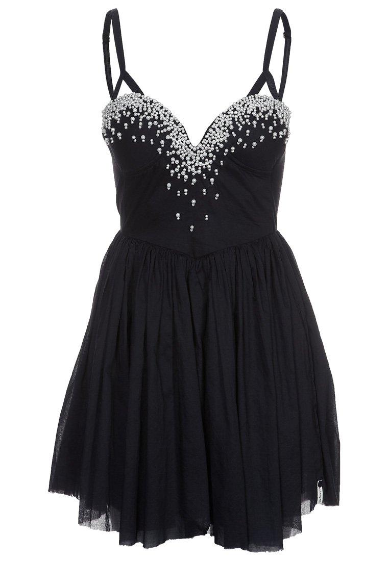 One Teaspoon JUST ONE KISS PEARL - Cocktail dress / Party dress - black - Zalando.co.uk