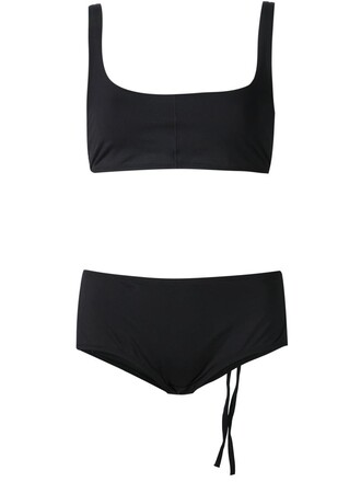 bikini black swimwear