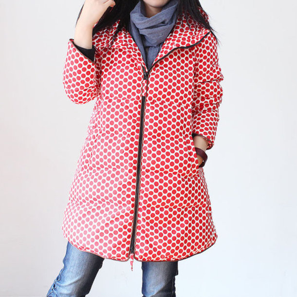 coat winter outerwear down feather coat