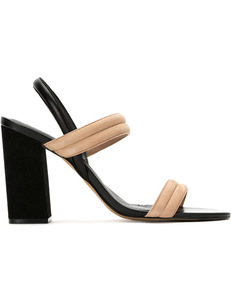 EGREY strappy women sandals strappy sandals leather black shoes