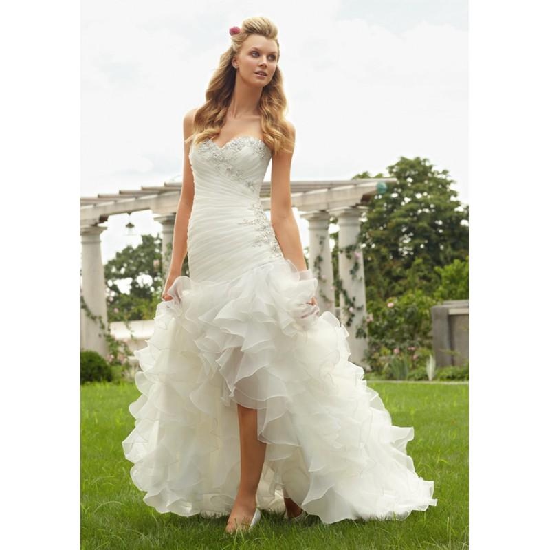 Mori Lee 6743 Bridal Gown (2013) (ML13_6743BG) - Crazy Sale Formal Dresses|Special Wedding Dresses|Unique 2017 New Style Dresses