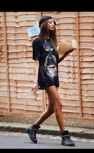 t-shirt black t-shirt tshirt dress oversized t-shirt urban