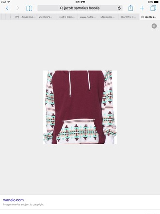 jacket red green and whitejacob sartorious