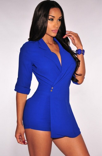 romper blue trench coat for women spring trench gold hairstyles fashion vibe colorful blogger chic celebstyle for less quality and style curvy fashion curvy dress blue romper summer shorts spring outfits festival dress festival festival must have