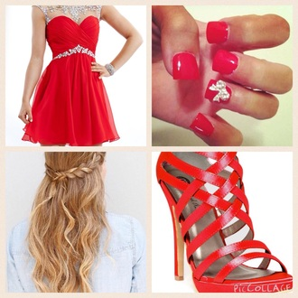 shoes redheels