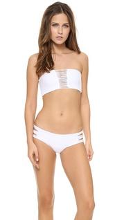 Mikoh swimwear velzyland skinny string bikini bottoms