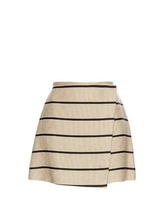 skirt cotton beige