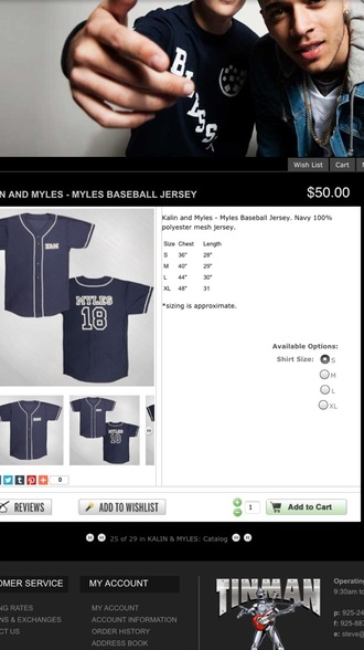 shirt myles parrish baseball jersey blue shirt shoes