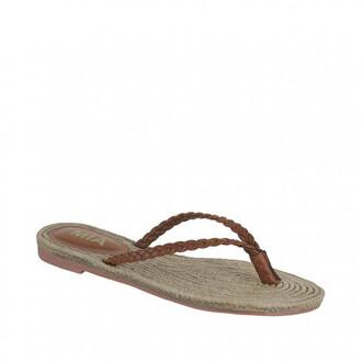 shoes braided mia shoes sandals thong sandals bikiniluxe