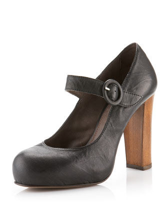 Veronica mary jane pump