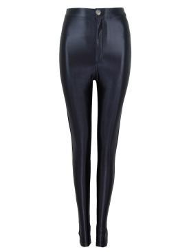 Black high waisted disco pants