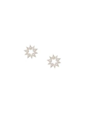 mini sun metallic women earrings stud earrings jewels
