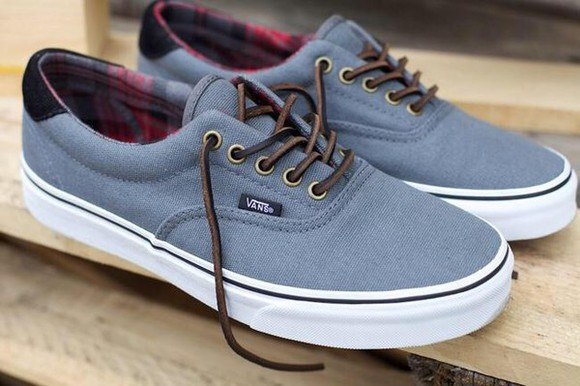 shoes vans vans of the wall leather laces