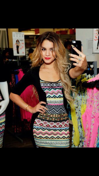 dress venessa hudgens