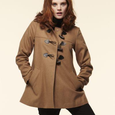 duffle coat femme du 36 au 48 manteaux vestes collection printemps et 2011. Black Bedroom Furniture Sets. Home Design Ideas