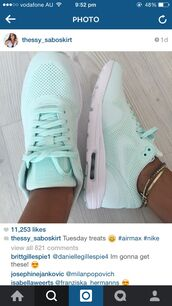 shoes,sports shoes,sneakers,nike,nike air,nike air max 1,blue,light blue,mint,nike sneakers,nike shoes,tiffany blue nikes,air max,nikes mint green,mint nike,nike running shoes,blue shoes,turquoise,ice blue,mint green shoes,skyblue,türkis nike schuhe,pastel blue nike runs,nike air max theas,nike mint green,mint nike air max,turqoise,shorts,nike theas,green,pastel,pale,sportswear,trainers,nike air max 1 ultra moirée,light green,style,swag,bleu,nike shoes womens roshe runs,jewels,pastel sneakers,air max pastel blue,women shoes,nike mint free runs,nike air force,ultra,moire,fieberglass,nike air max thea light  blue,just do it,nike sportswear,nike air max 1 ultra moire,nike air max mint green,light blue nike shoes,running shoes,tavas,women,sarah co mode ton look,blogger