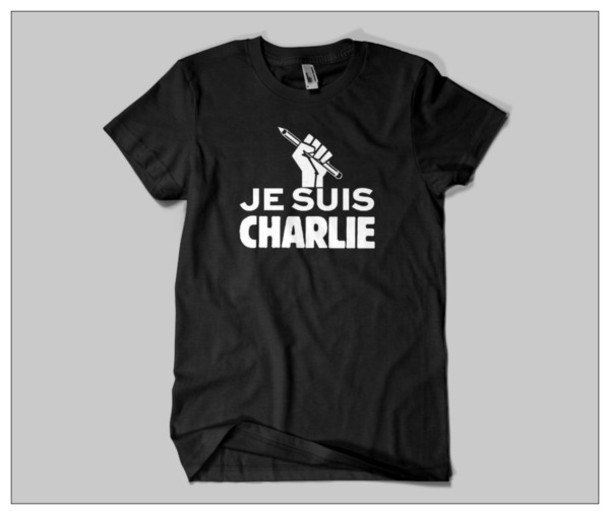 t-shirt je suis charlie charlie hebo