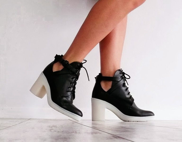 Lace Up Heeled Ankle Boots | Choies