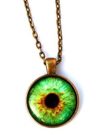 jewels neck less hippie old eye art dark goth style fashion necklesss vintage