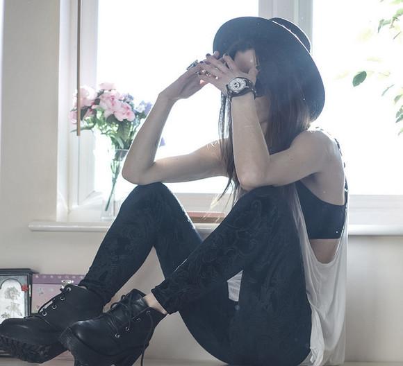 pants leggings black velvet