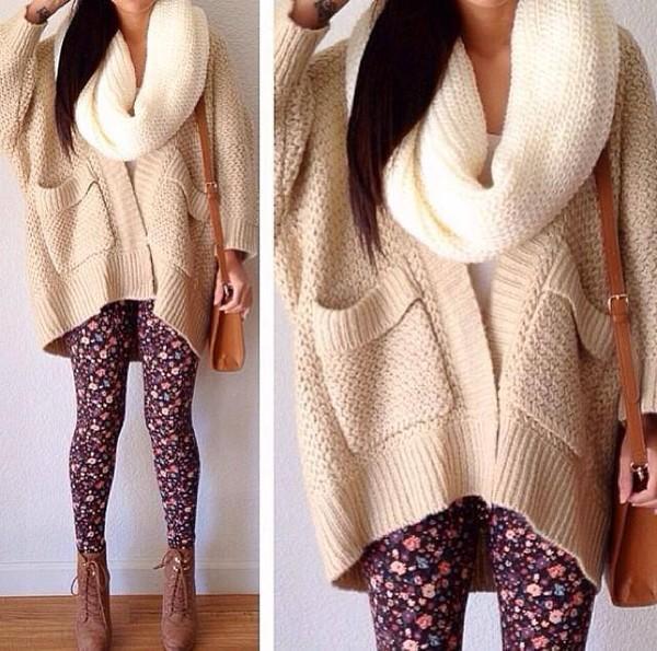 pants leggings print jacket