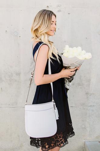 a little dash of darling blogger dress bag shoes