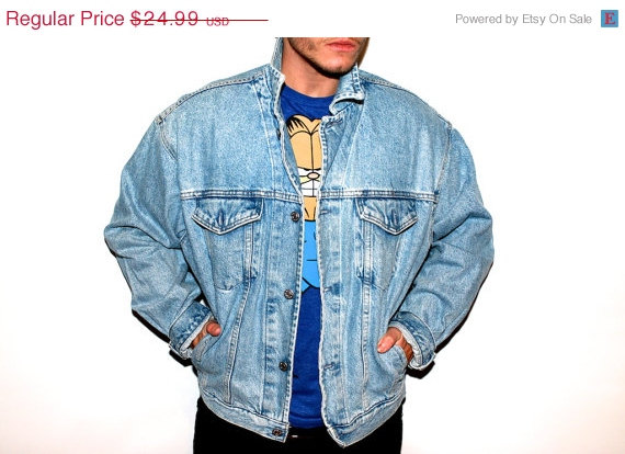ON SALE CUTE Vintage Denim Jean Jacket The by TheVintageBulldog