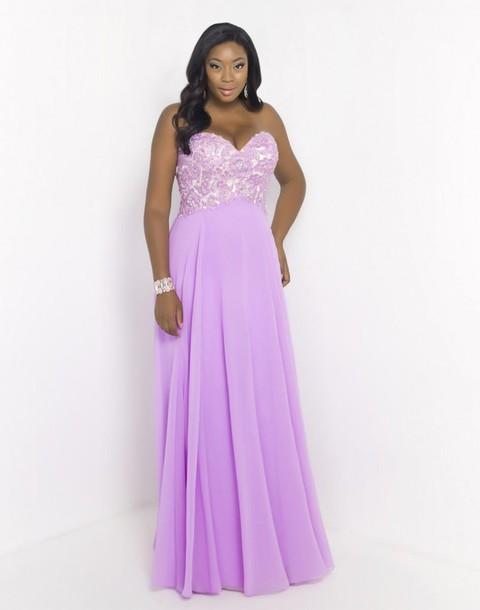 dress curvy gown prom dress plus size dress