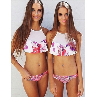 swimwear swimsuit 2014 halter top bikini halter bikini mesh see through hipster neon style stylish trendy girly cute cool summer tumblr clothes tumblr girl tumblr bikini tumblr girl blogger beach pastel instagram pretty hairstyles chiffon beautiful lifestyle friends bikini on point clothing