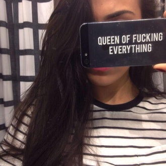 iphone case phone case queen queen of fucking everything