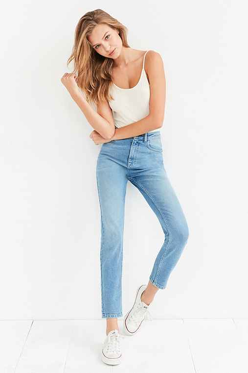 89f11aed BDG Girlfriend High-Rise Jean - Light Wash - Urban Outfitters