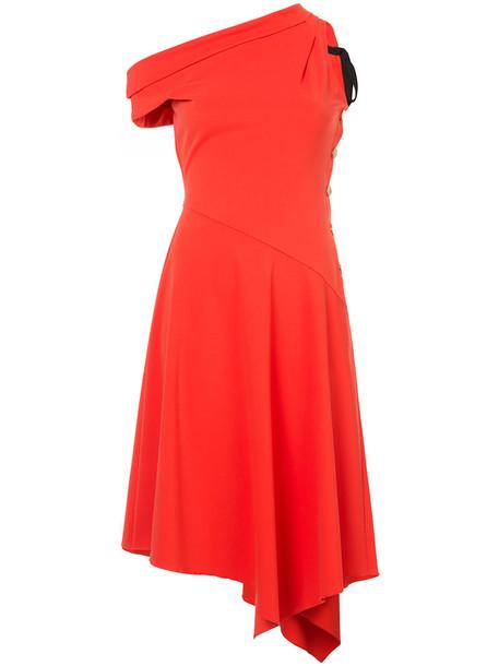 DEREK LAM 10 CROSBY dress midi dress women midi red
